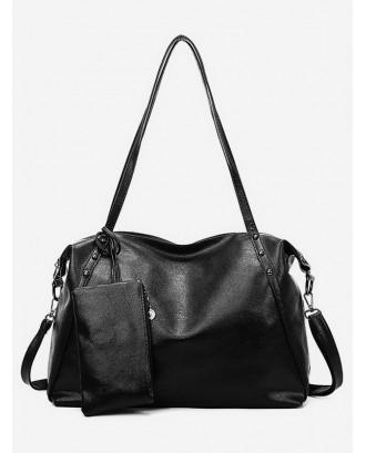 Big Casual Sports Dry Wet Depart Bag - Black