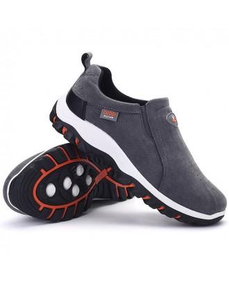 Men's Autumn Winter Outdoor Casual Shoes - Gray Eu 39