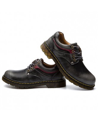 Casual Oxford Simple Shoes - Black Eu 40