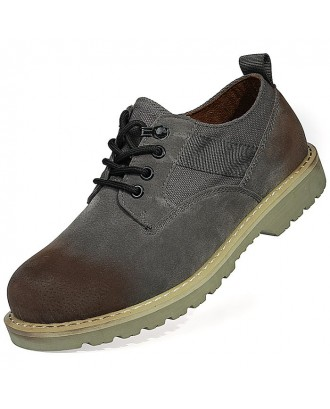 Casual Oxford Shoes for Men - Gray Eu 44
