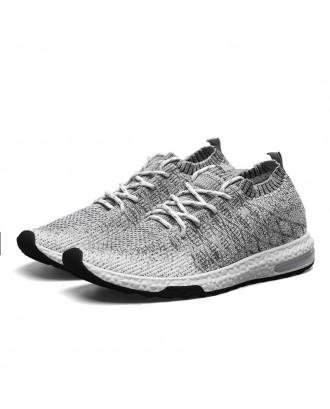 Men Breathable Anti-slip Outdoor Casual Shoes - Gray Cloud Eu 43