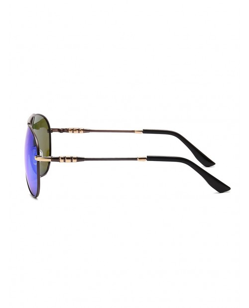 Anti UV400 Pilot Polarized Sunglasses - Silk Blue