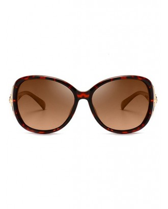 Polarized Animal Decoration Sunglasses - Leopard